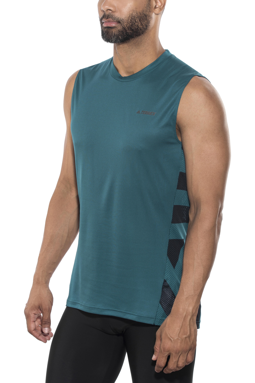 47f5182808dc9 adidas TERREX Agravic - Camiseta sin mangas running Hombre - Azul petróleo